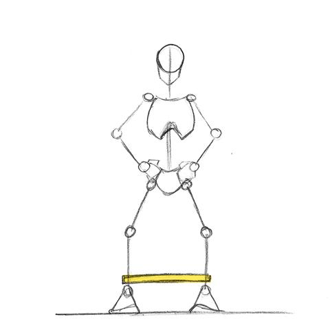Sciences du sport importance du choix des exercices pour la r ducation du genou - Dessin du genou ...